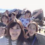 毎年恒例の宮島の弥山に登りました♪